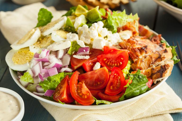 no cook - cobb salad