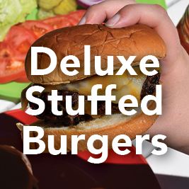 Deluxe Stuffed Burgers