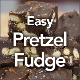 Easy Pretzel Fudge