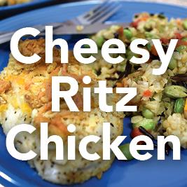 Cheesy Ritz Chichen