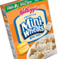 Picture of Kellogg's Mini-Wheats or Raisin Bran