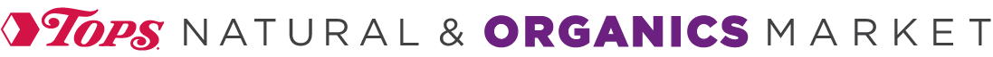full size tops organic logo